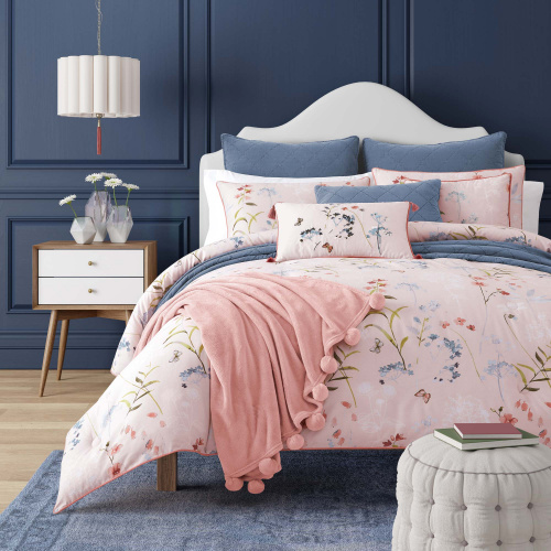 Beatrice Rose Twin 3-Piece Comforter Mini Set