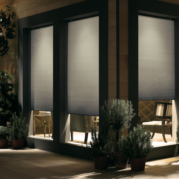 Cordless Double Cellular Light Filtering Shade