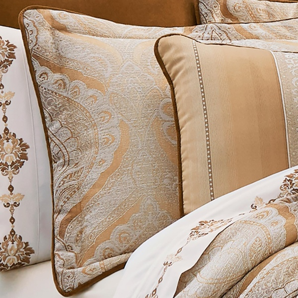Gianna Gold Comforter Set