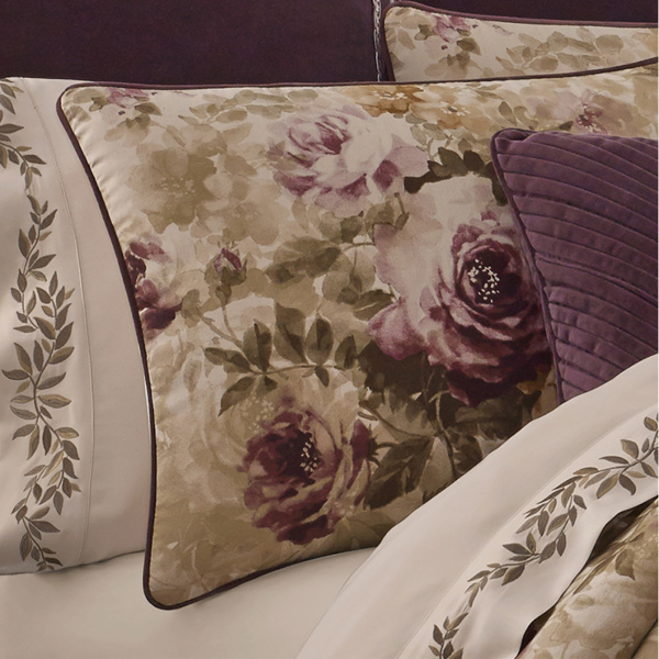 "Grace Amethyst 20"" Square Dec Pillow"