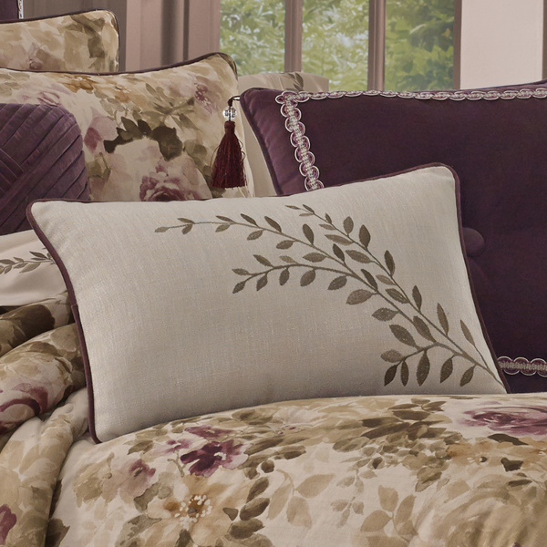 Grace Beige Boudoir Pillow