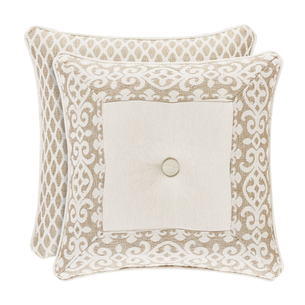 "Milano Sand 18"" Square Dec Pillow"