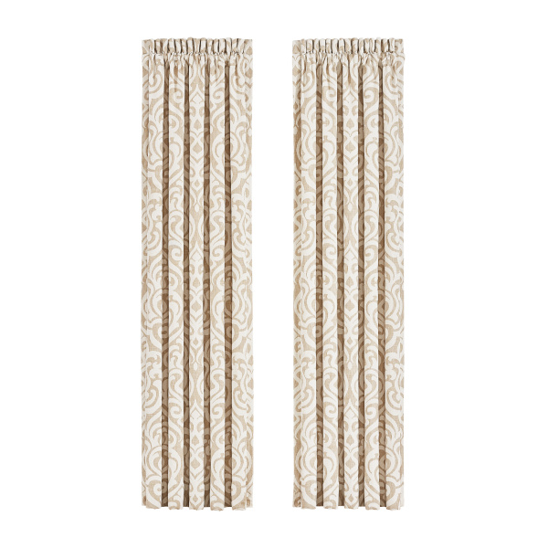 "Milano Sand 84"" Panel Pair"