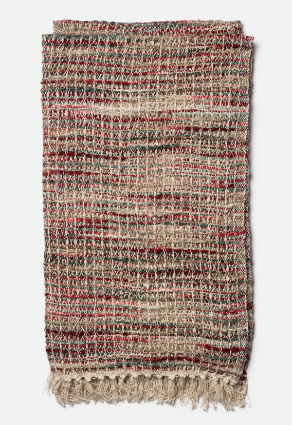 Nora Throw T0017R Red Multi