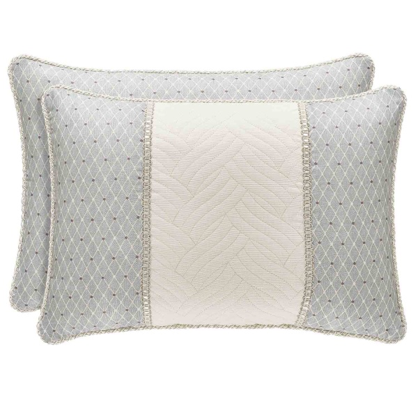 Palermo Blue Boudoir Pillow