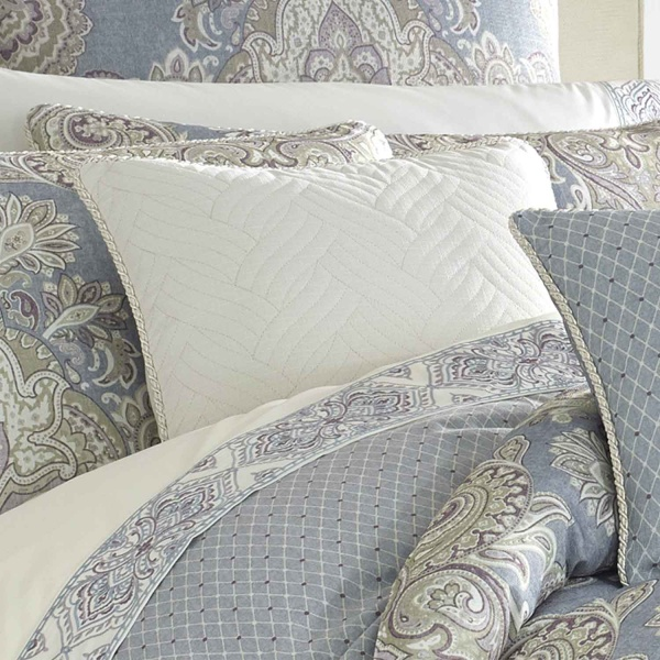 Palermo Blue King Comforter Set - King
