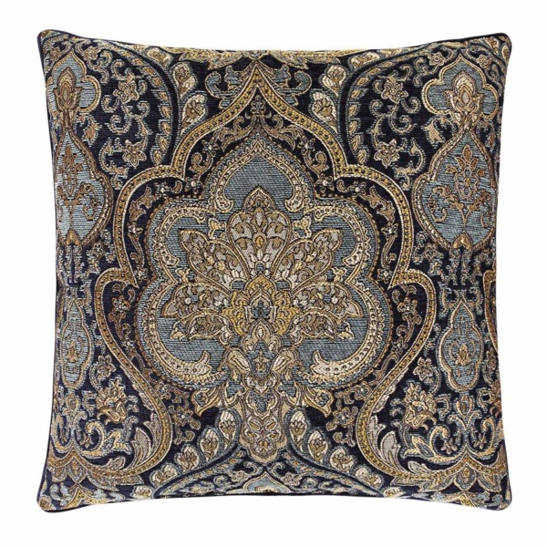 "Palmer Teal 20"" Square Pillow"