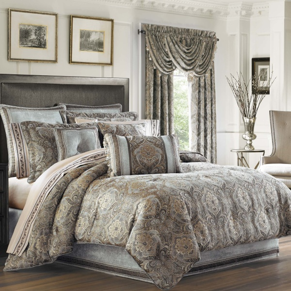 Provence Stone Queen 4-Piece Comforter Set