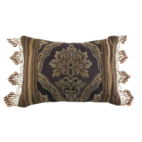 Reilly Black Boudoir Pillow