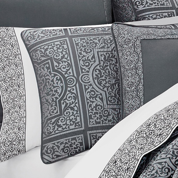 Rigoletto Charcoal Comforter Set 2