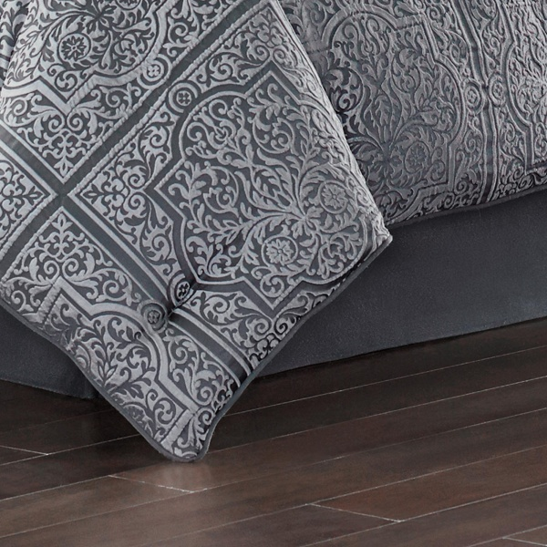 Rigoletto Charcoal Comforter Set 3