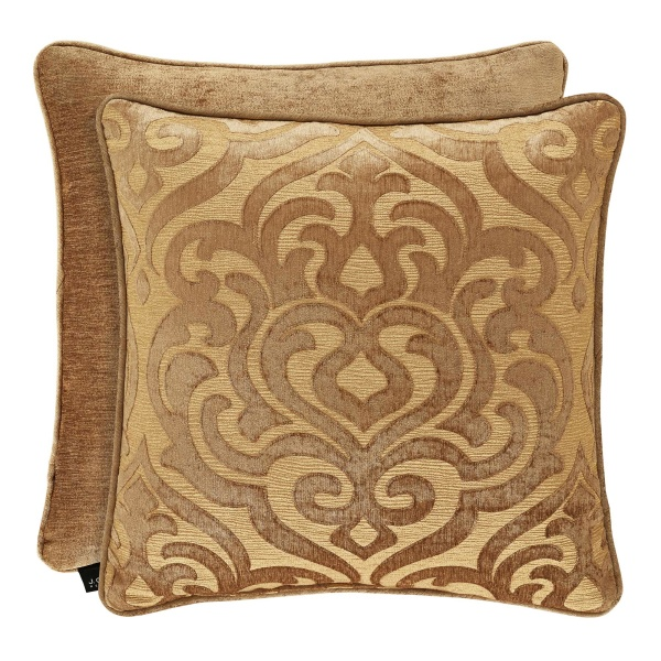 "Sicily Gold 20"" Square Dec Pillow"