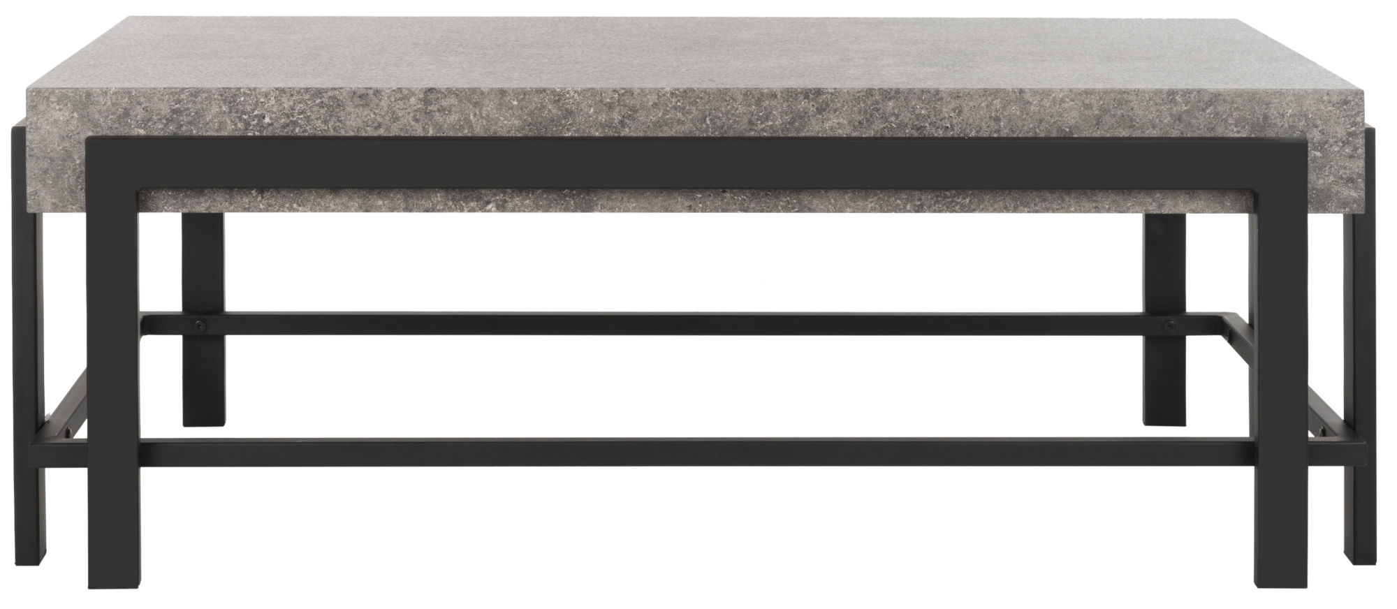 Oliver Rectangular Contemporary Coffee Table