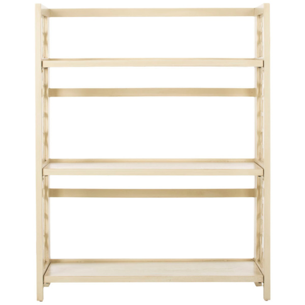 AMH6565B Natalie 3 Tier Low Bookcase
