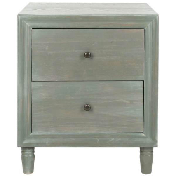 AMH6605B Blaise Nightstand With Storage Drawers