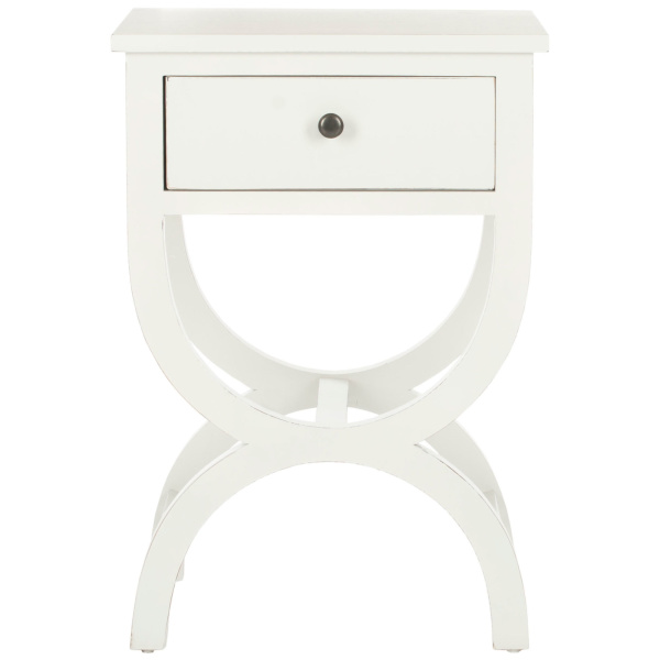 AMH6608A Maxine Nightstand With Storage Drawer