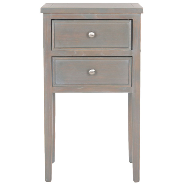 AMH6625A Toby Nightstand With Storage Drawers