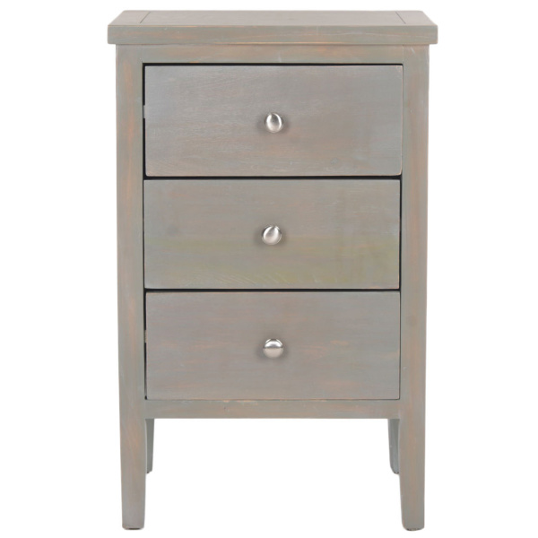 AMH6628A Deniz Nightstand With Storage Drawers