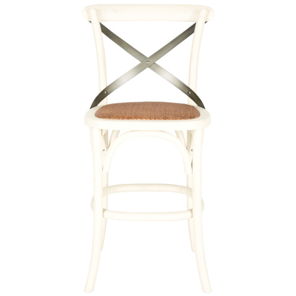Eleanr X Back Counter Stool