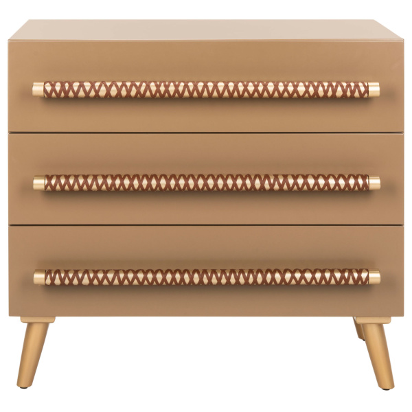 CHS6602A Raquel 3 Drawer Chest
