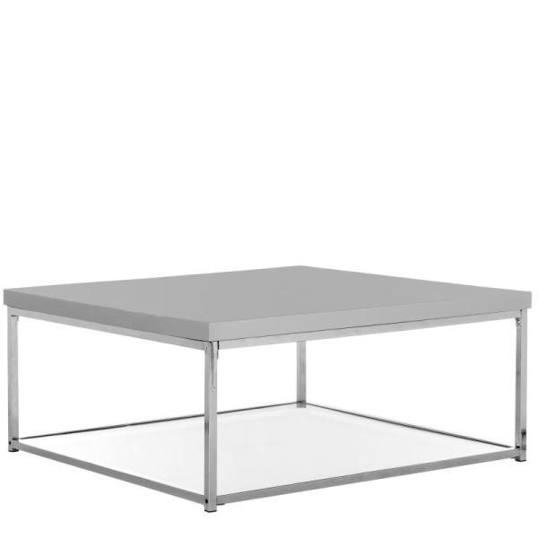 FOX2214C Malone Chrome High Gloss Coffee Table