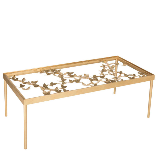 FOX2589A Rosalia Butterfly Coffee Table