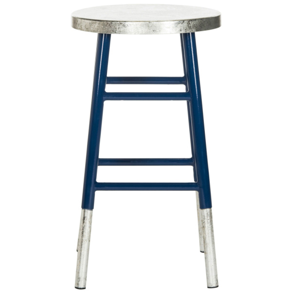 FOX3211C Kenzie Silver Dipped Counter Stool