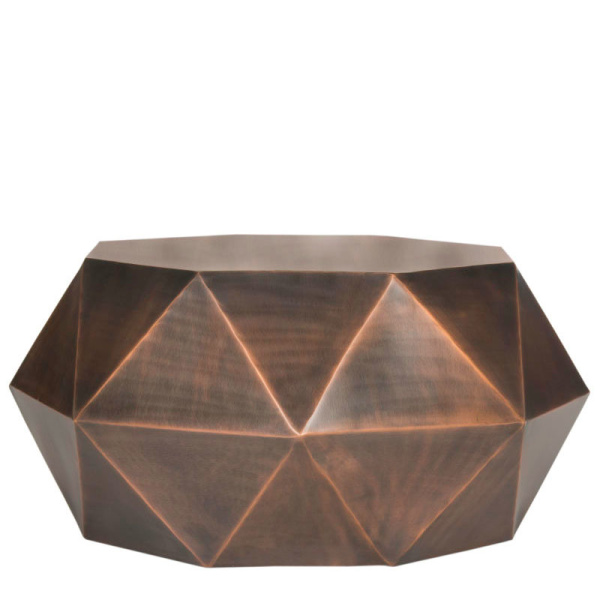 FOX3223B Astrid Faceted Coffee Table