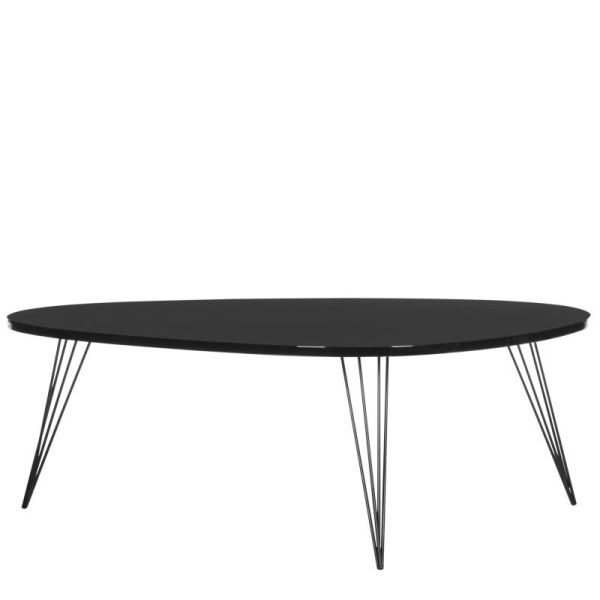 FOX4215D Wynton Retro Mid Century Lacquer Coffee Table