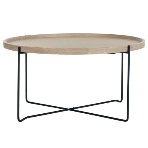 FOX4254A Auden Retro Mid Century Wood Accent Table