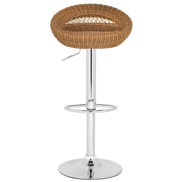FOX7524A Zeba Swivel Bar Stool