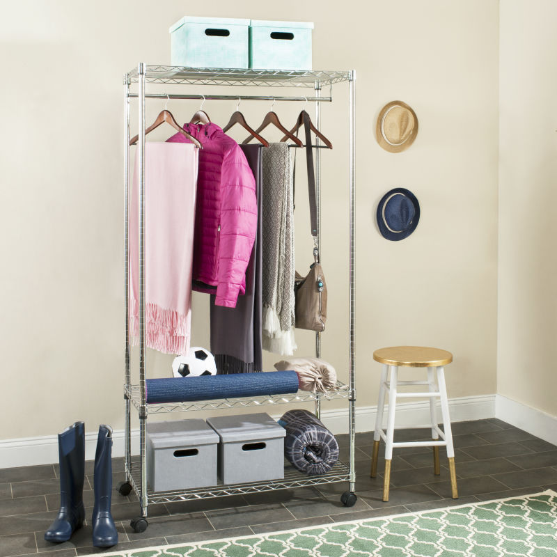 Gordon Chrome 3-Tier Garment Rack