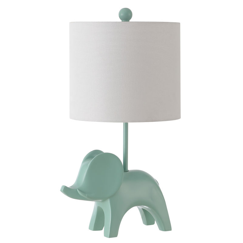 KID4248C Ellie Elephant Lamp - Seafoam