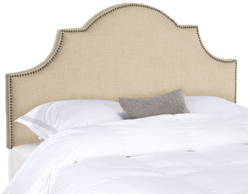 MCR4679B Kerstin Wedgewood Blue Arched Headboard