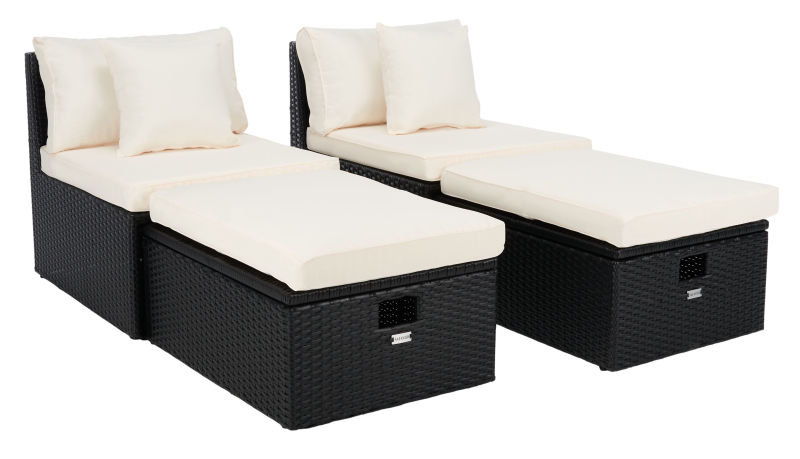 PAT7515A Pramla Outdoor Sette With Ottoman