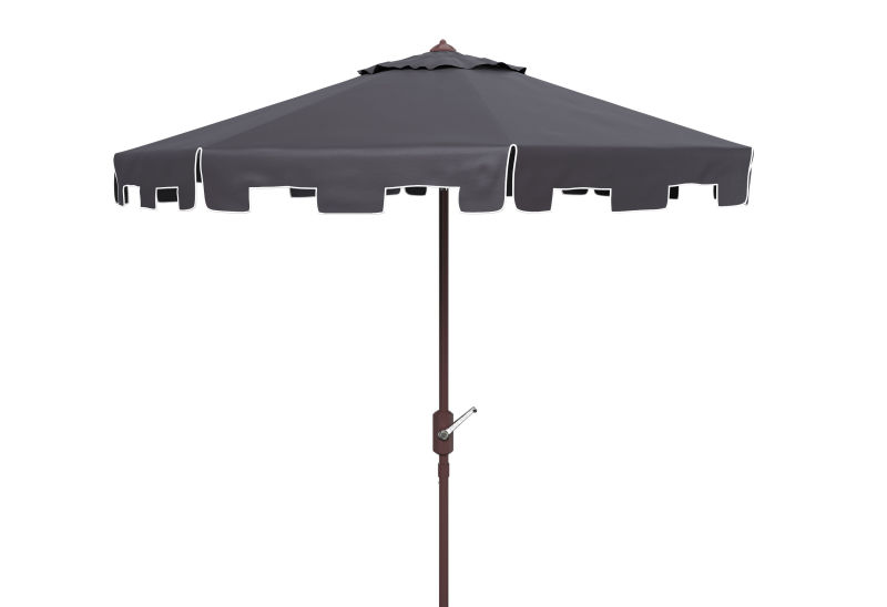 PAT8100A Zimmerman 11ft Rnd Market Umbrella Navy/White