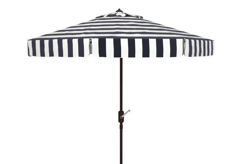 PAT8103A Elsa Fashion Line 11ft Rnd Umbrella Black/White
