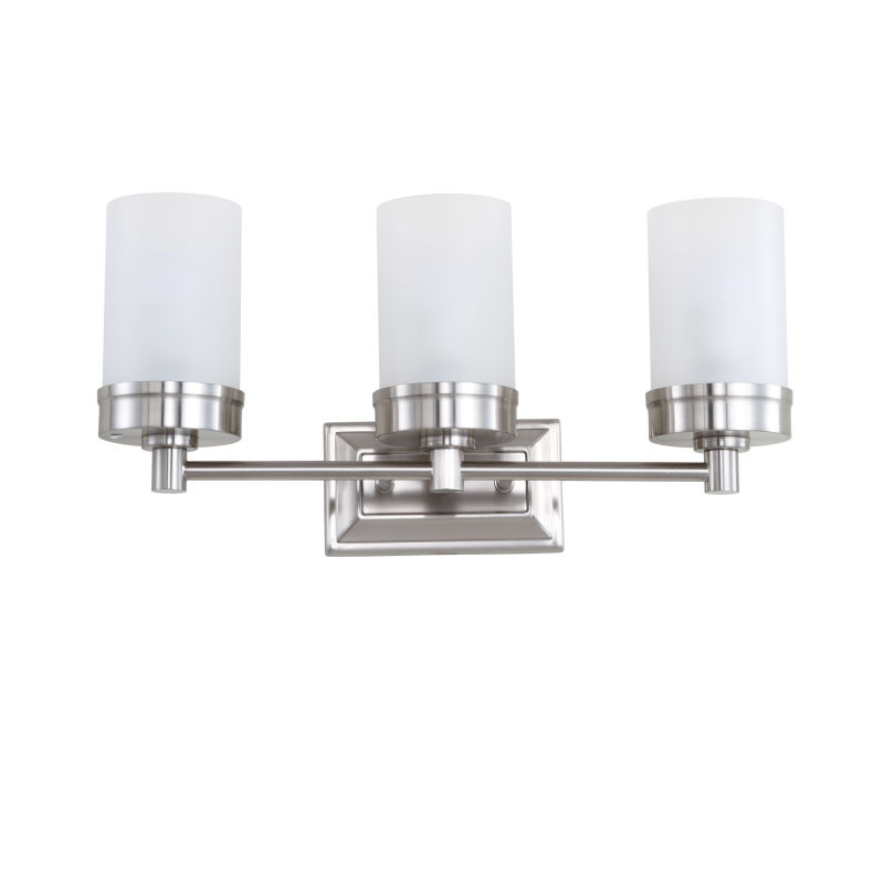 Lucian Three Light Bathroom Sconce