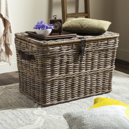 Amancio Wicker Trunk