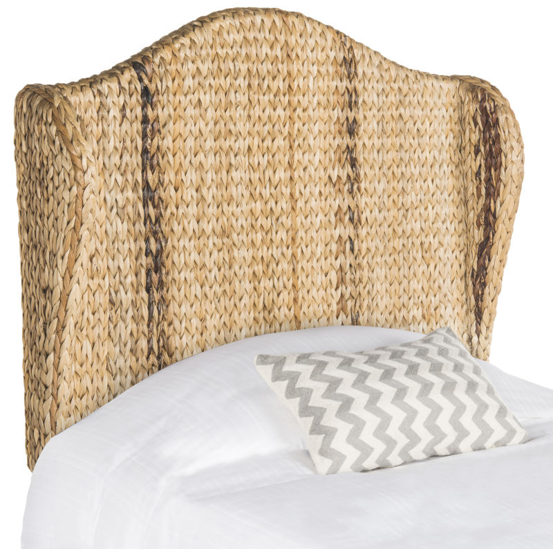 SEA8029A-T Nadine Natural Winged Headboard