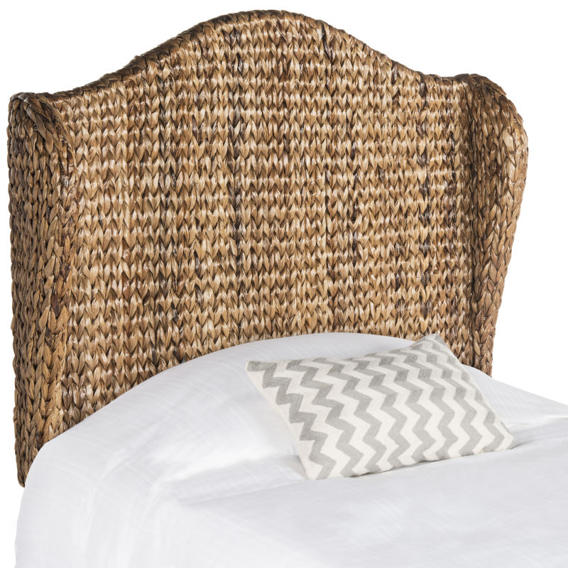 SEA8029B-T Nadine Brown Winged Headboard
