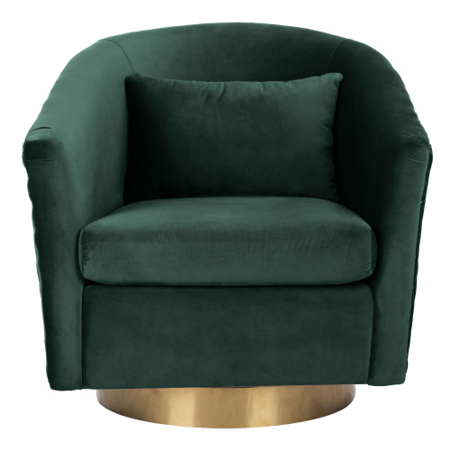SFV4702B Clara Quilted Swivel Tub Chair
