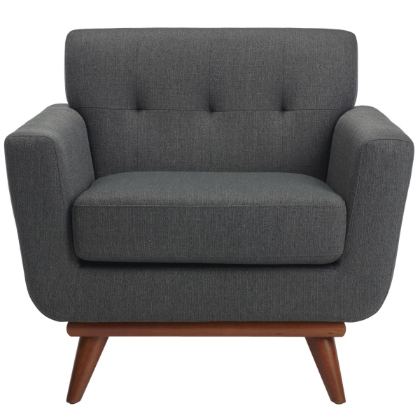 SFV4727A Opal Linen Tufted Arm Chair