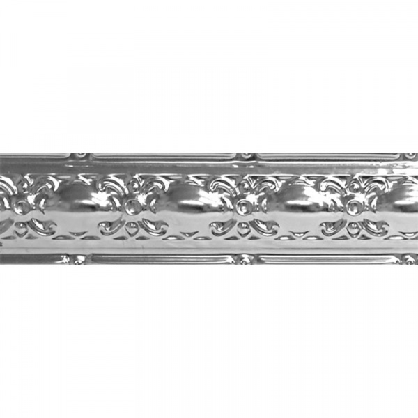 Embroidered Cornice Metal Ceiling Tile