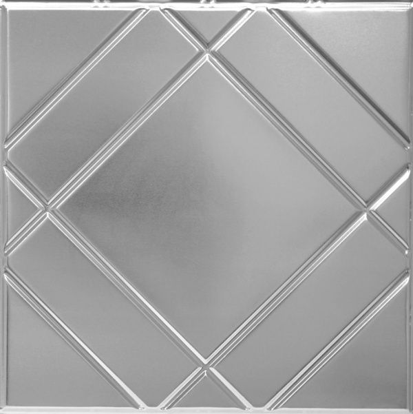 Rectangles Metal Ceiling Tile
