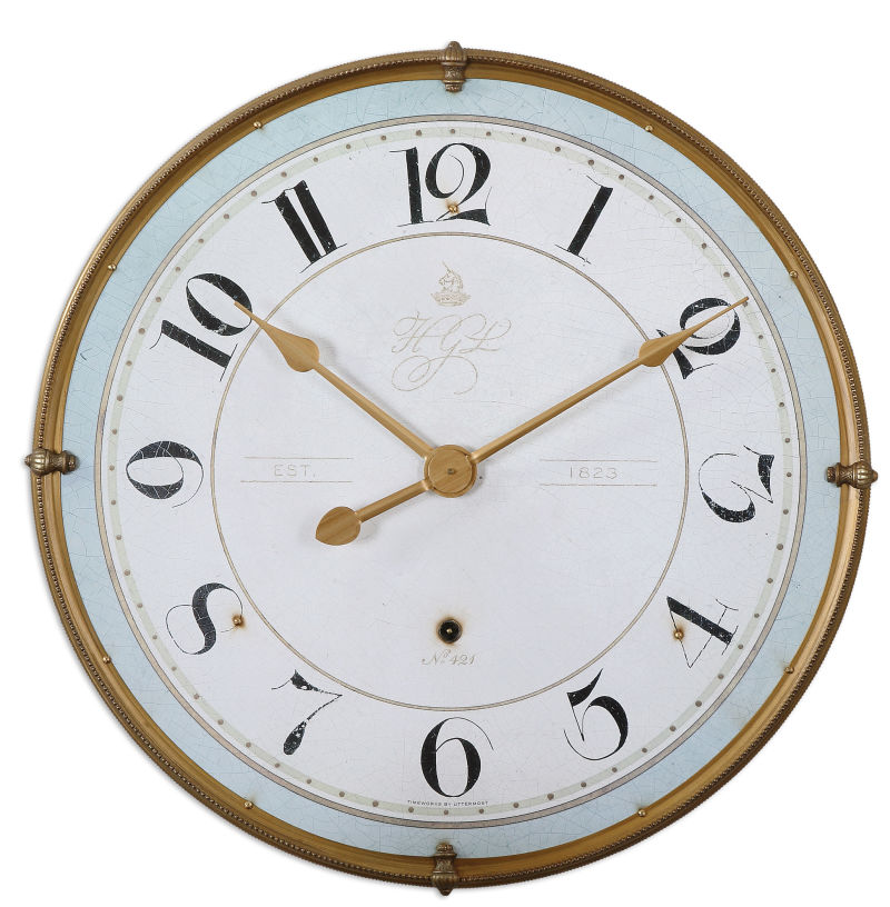 06091 Uttermost Torriana Wall Clock