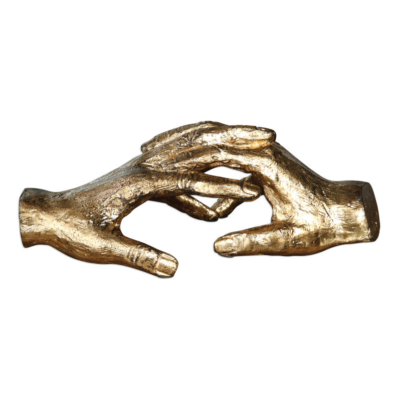 20121 Uttermost Hold My Hand Gold Sculpture