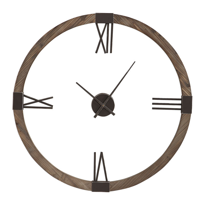 06454 Uttermost Marcelo Modern Wall Clock