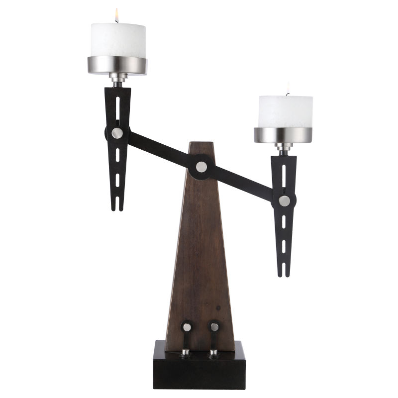 17554 Uttermost Cardiff Industrial Candleholder