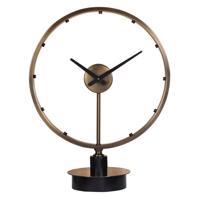 06459 Uttermost Davy Modern Table Clock